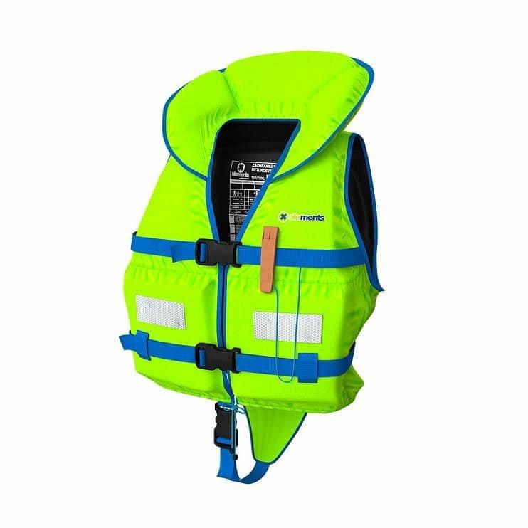 Zelená dětská plovací vesta