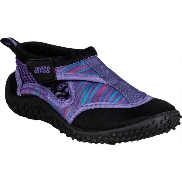 Fialové dětské boty do vody Aress