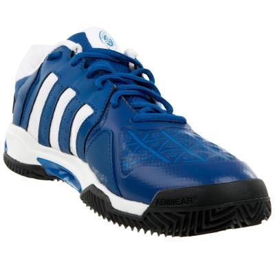 Modrá tenisová obuv Barricade Club, Adidas