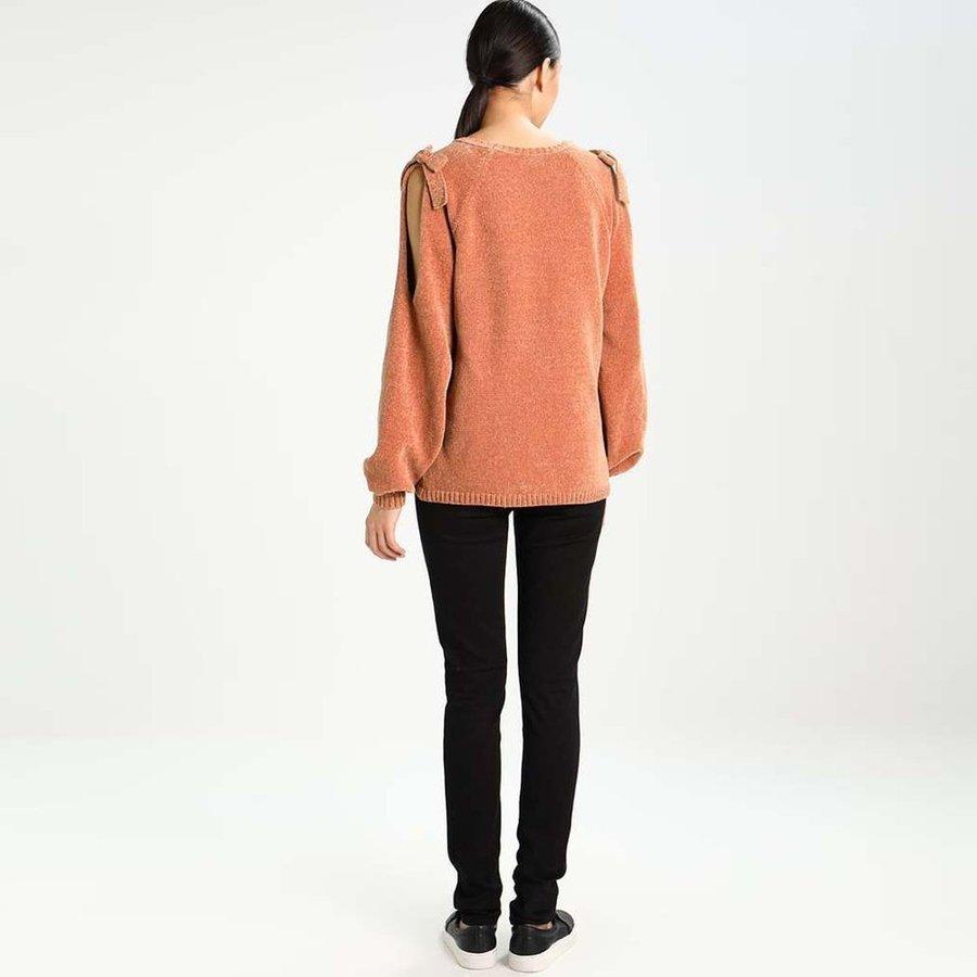 Svetr - Oranžový pletený svetřík – Vicap – M