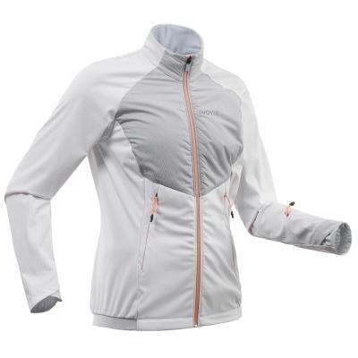 Bílá dámská bunda na běžky Inovik - velikost M