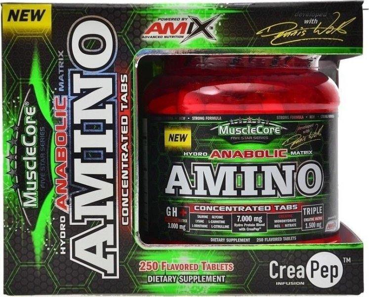 Protein - Anabolic Amino + CreaPEP - Amix 250 tbl