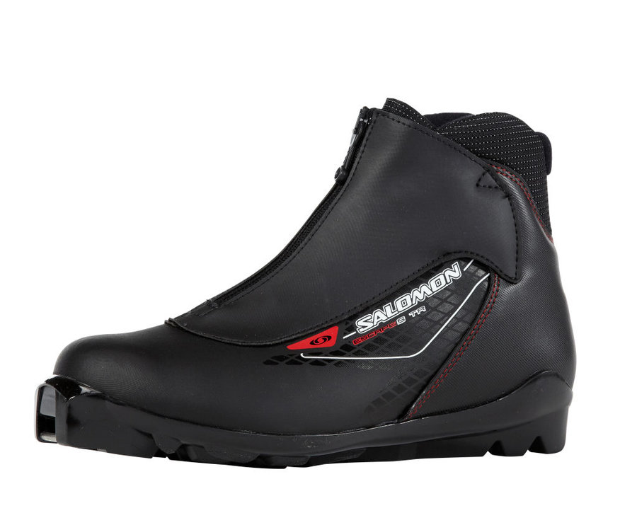 Černé boty na běžky SNS Salomon - velikost 46 EU