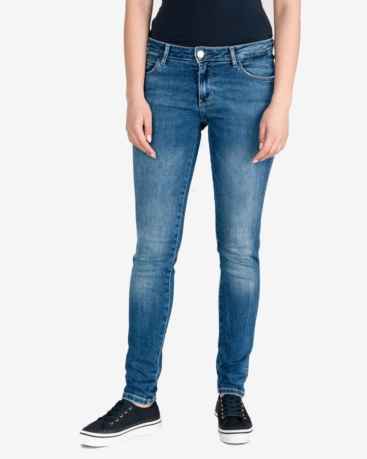 Modré dámské džíny Guess