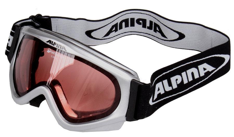 Lyžařské brýle - Alpina E-rotic stříbrná