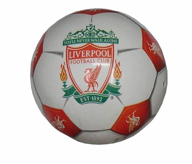 Fotbalový míč - ACRA Míč potištěný LIVERPOOL - sleva 15%