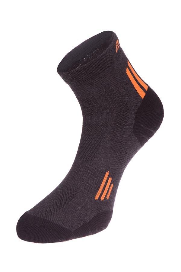 Černé kotníkové ponožky Alpine Pro