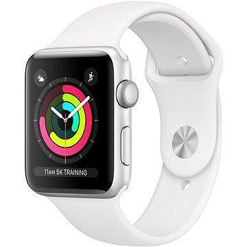 Bílé chytré hodinky Watch Series 3, Apple