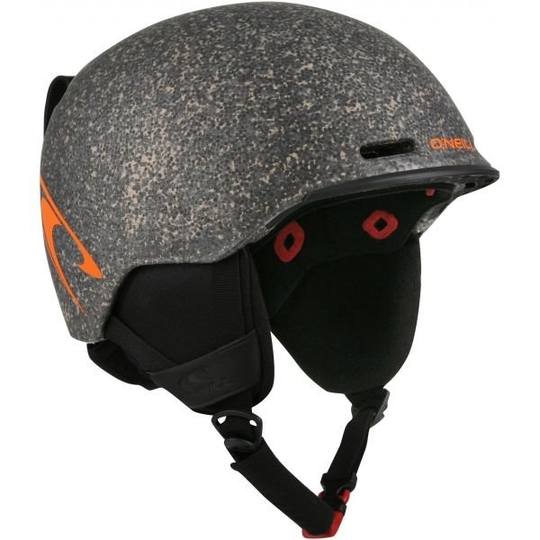 Šedá lyžařská helma O'Neill - velikost 58-61 cm