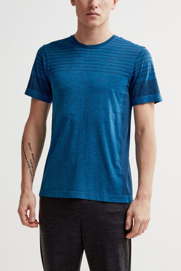 Modré pánské tričko s krátkým rukávem Craft - velikost S