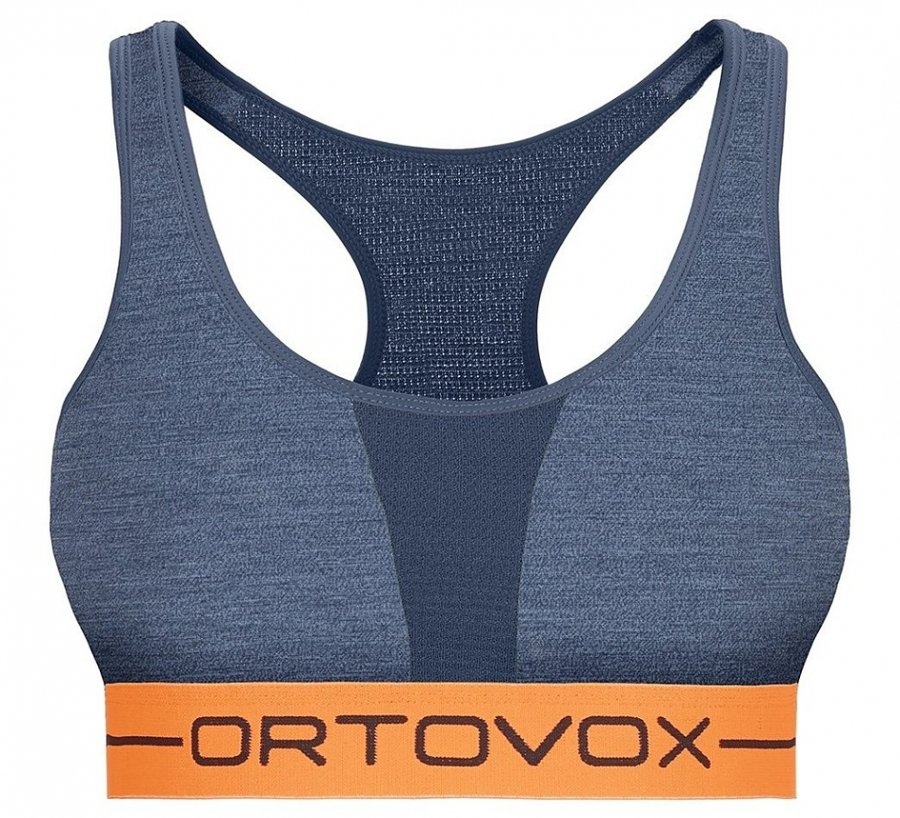 Modrá sportovní dámská podprsenka Ortovox