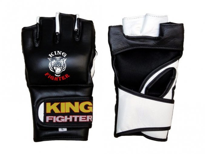MMA rukavice - MMA rukavice King Fighter černé Velikost: L