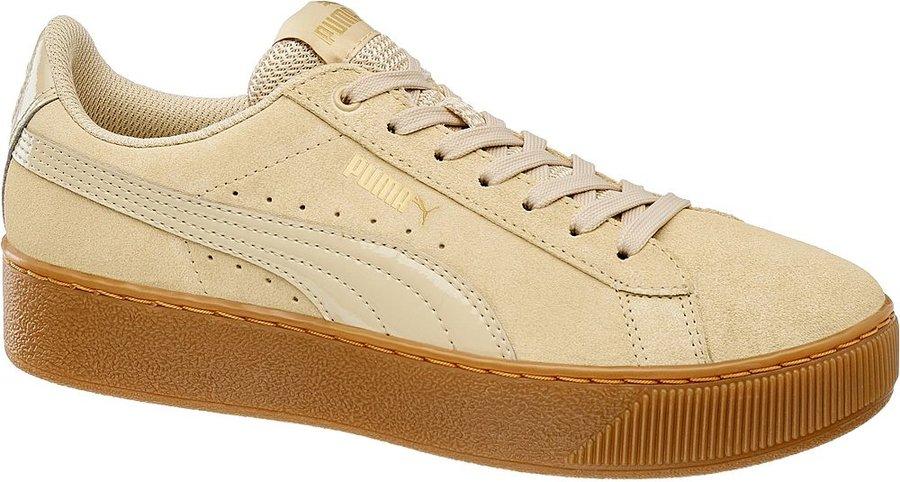 Béžové dámské tenisky Puma - velikost 37 EU
