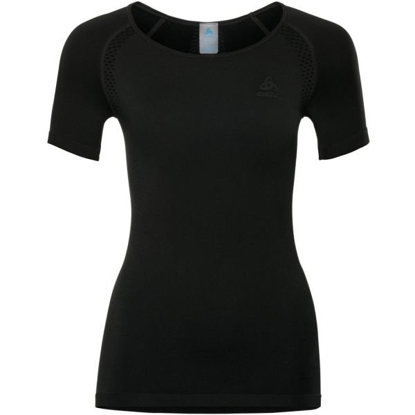 Černé dámské funkční tričko s krátkým rukávem Odlo
