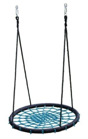 Černo-modrý houpací kruh - průměr 60 cm