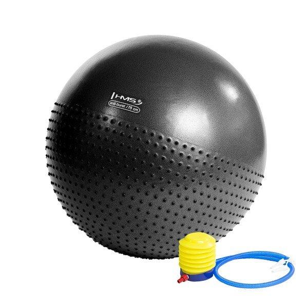 Stříbrný gymnastický míč HMS - průměr 75 cm