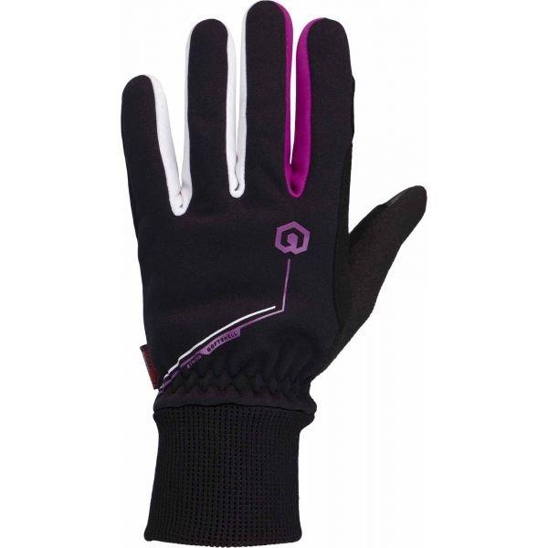 Černé dámské rukavice na běžky Arcore
