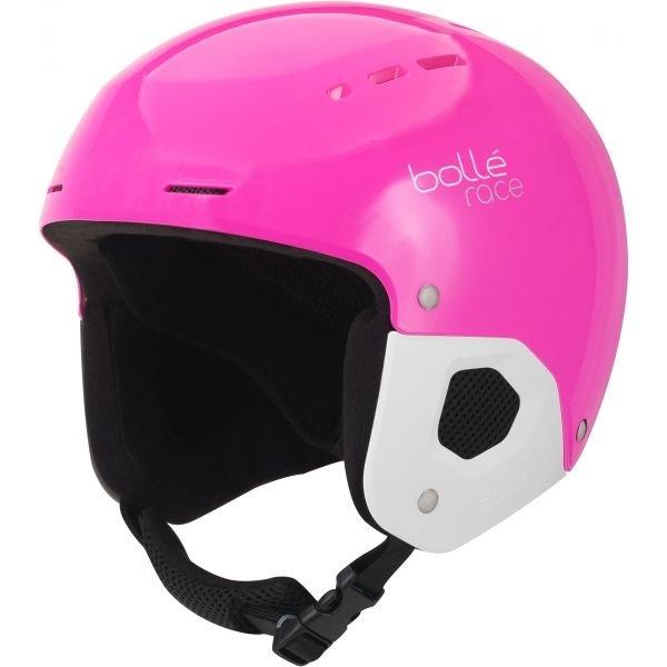 Růžová dívčí lyžařská helma Bollé