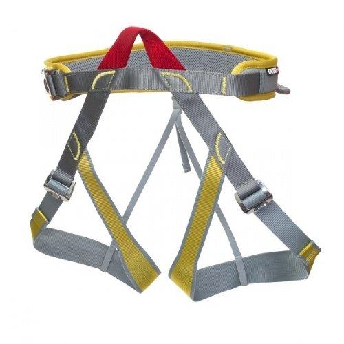 Šedo-žlutý unisex horolezecký úvazek Newton, Ocún