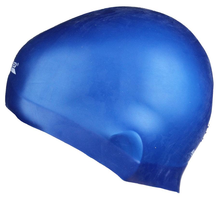 Modrá dámská nebo pánská plavecká čepice RACER, Aqua-Speed