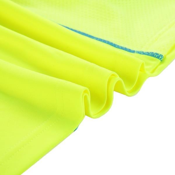 Žluté pánské tričko s krátkým rukávem Alpine Pro - velikost XS