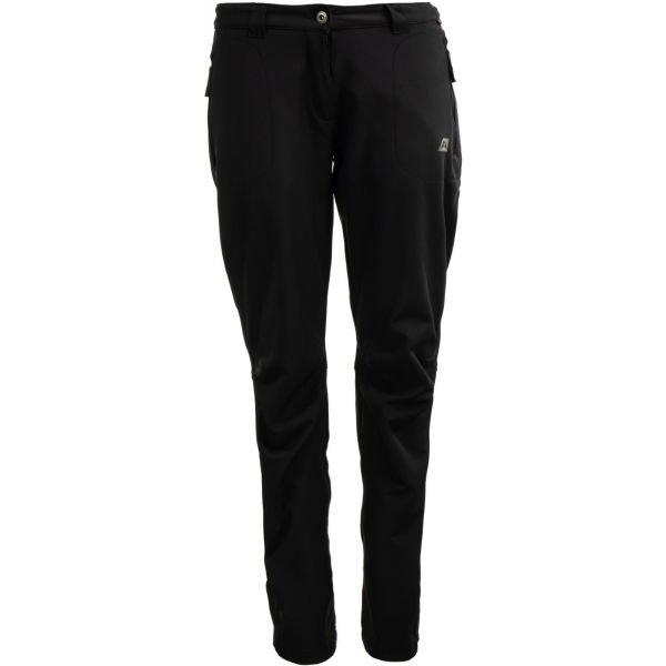 Černé softshellové dámské kalhoty Alpine Pro