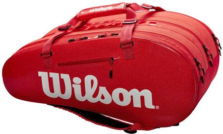 Tenisová taška - Wilson Super Tour 3 COMP 2019 Red