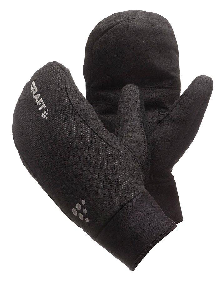 Černé unisex neoprenové rukavice ACTIV, Craft - velikost XS