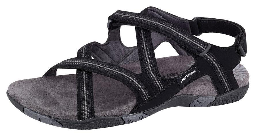 Černé dámské sandály Hannah