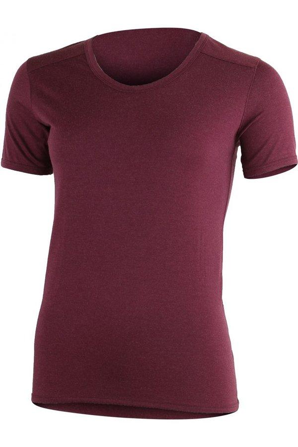 Červené dámské tričko s krátkým rukávem Lasting - velikost S