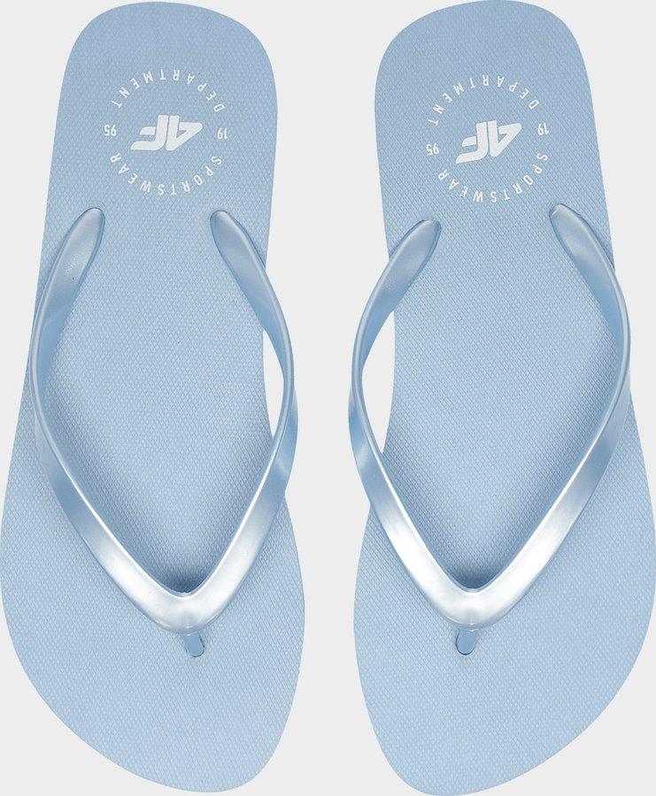 Modré dámské žabky 4F