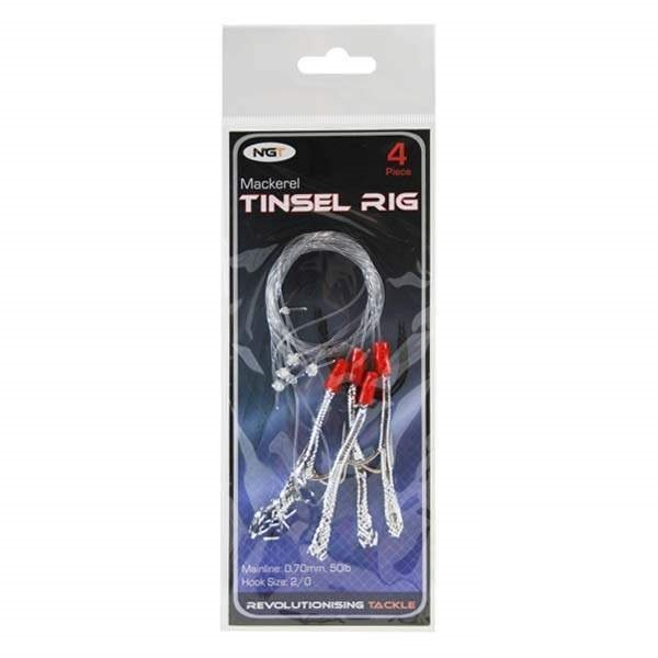 Návazec - Ngt mořský návazec mackerel tinsel rig 5