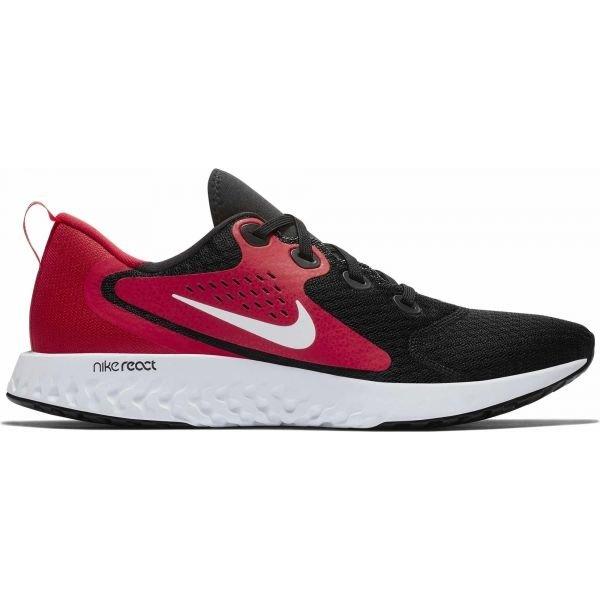 Černo-červené pánské běžecké boty Nike - velikost 45,5 EU