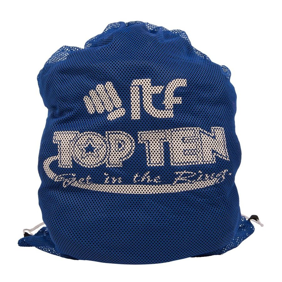 Batoh - Top Ten Mesh batoh ITF Taekwon-Do - modrá