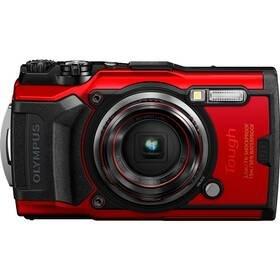 Červený outdoorový fotoaparát TG-6, Olympus