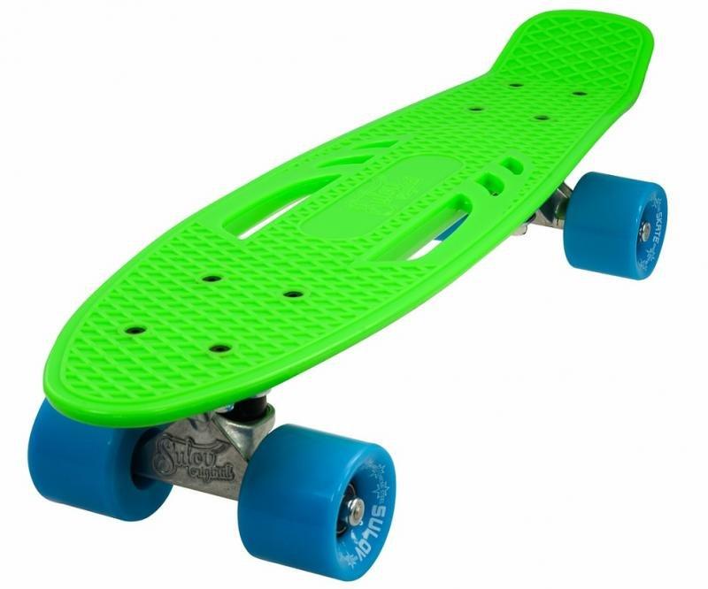 """Pennyboard - Penny board 22"""" CITY zeleno-modrý"""