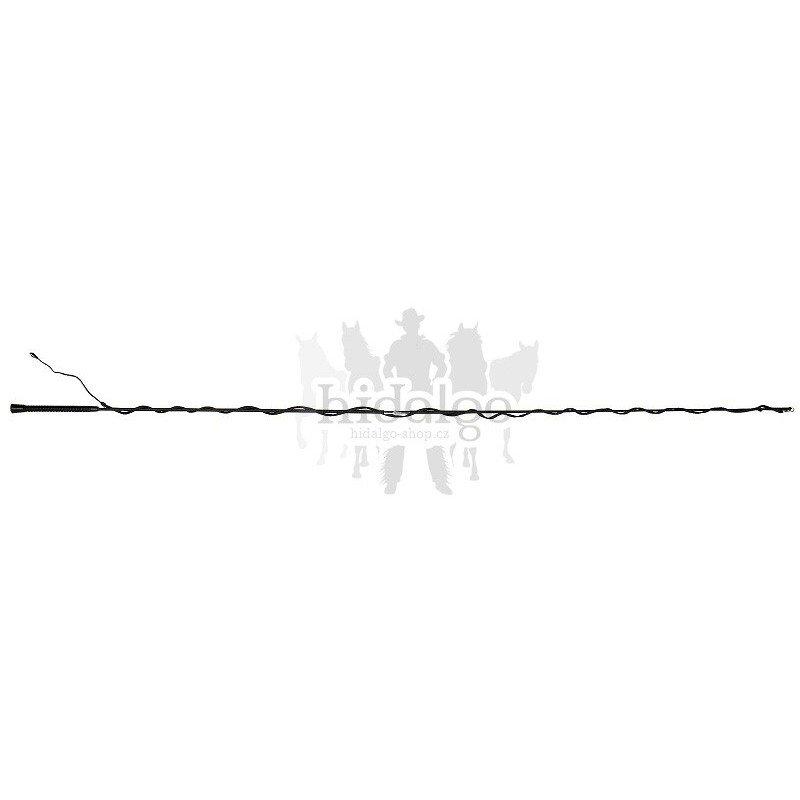 Černý lonžovací bič Waldhausen - délka 2,5 m