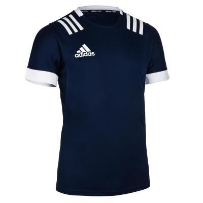Modrý pánský ragbyový dres 3S, Adidas - velikost XXL