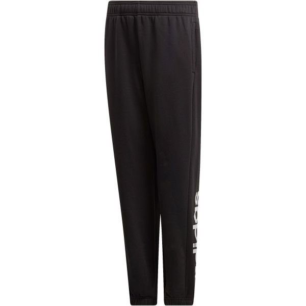 Černé chlapecké tepláky Adidas - velikost 140