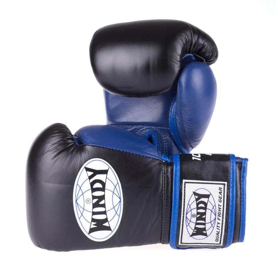 Černé boxerské rukavice WINDY