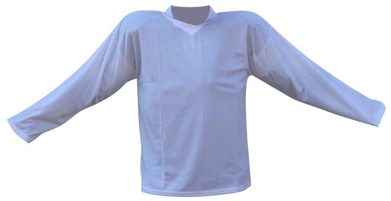 Bílý hokejový dres - velikost XL