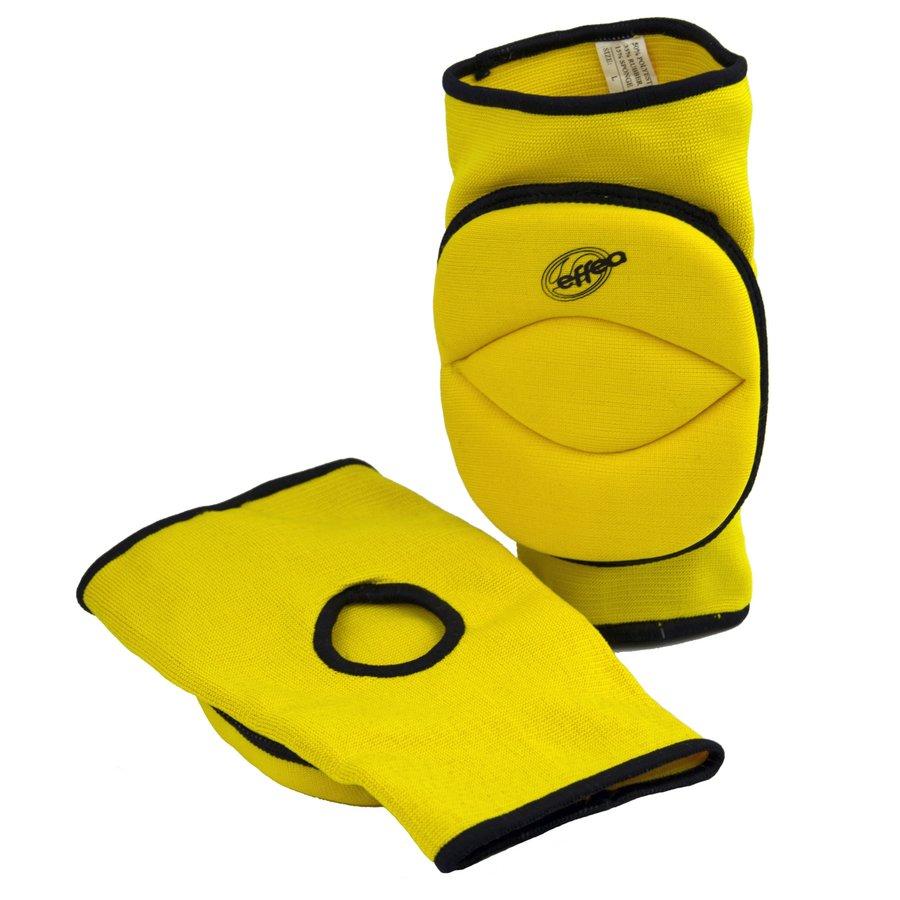 Žluté volejbalové chrániče - senior na kolena Effea