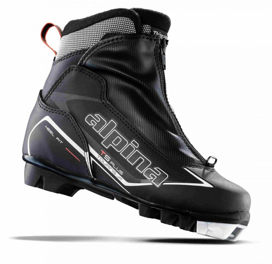 Černé boty na běžky Alpina
