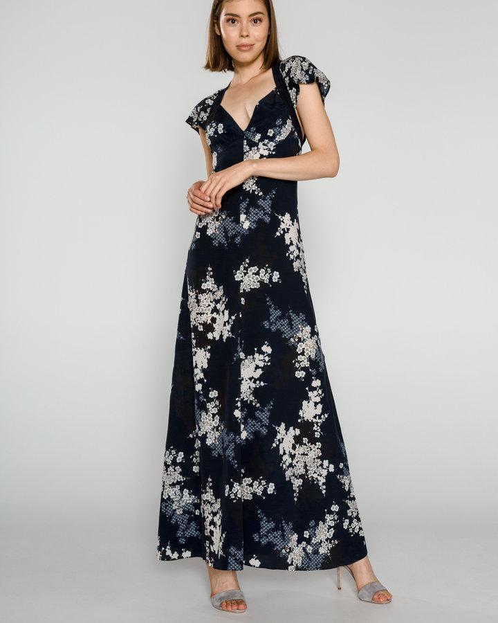Modré dámské šaty French Connection