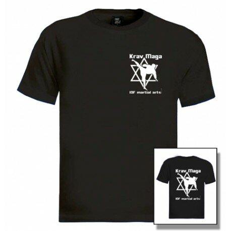 Černé pánské tričko s krátkým rukávem King fighter - velikost M