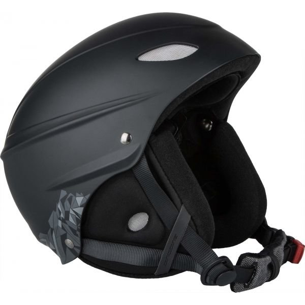 Černá lyžařská helma Arcore