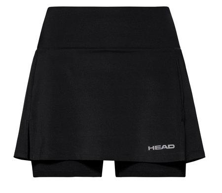 Černá dámská tenisová sukně Head