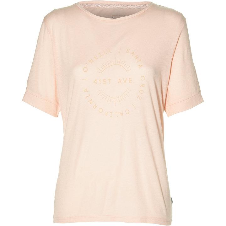 Růžové dámské tričko O'Neill - velikost XS