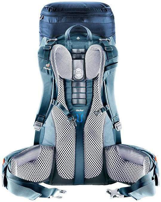 Batoh - Batoh Deuter Aircontact Lite 45+10 SL Barva: modrá
