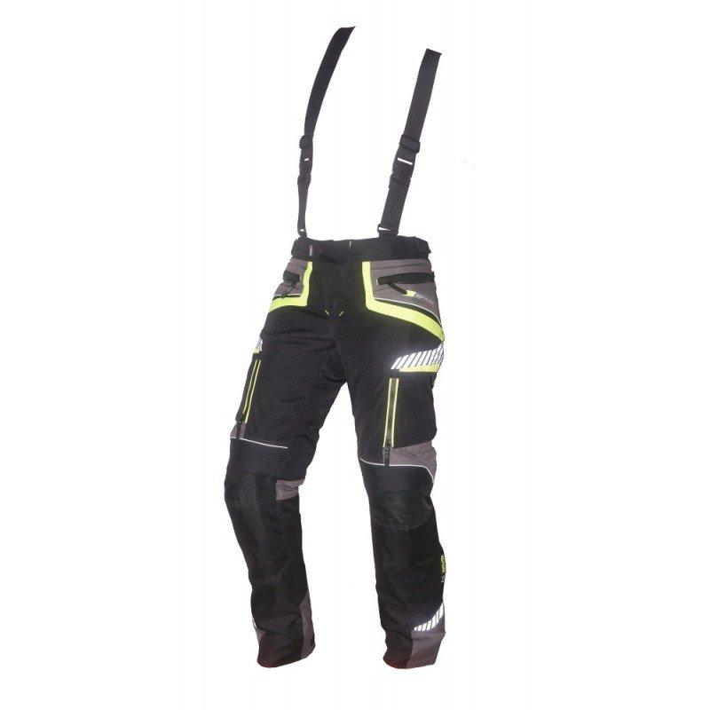 Černé pánské motorkářské kalhoty Roadrunner, Spark
